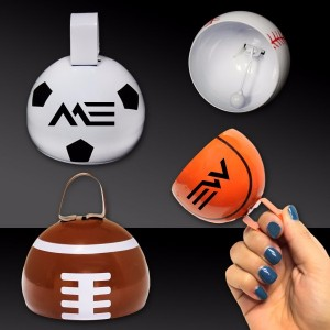 Sports Cowbell - Make some noise at your next away game.